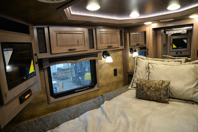 Bedroom In Bighorn Edition BH8X17 | Lakota Trailers
