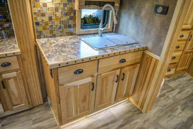Kitchen Sink in BH8X192S Bighorn Edition Horse Trailer   Lakota Trailers
