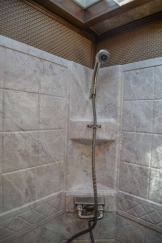 Shower in BH8X17SRB | Lakota Trailers