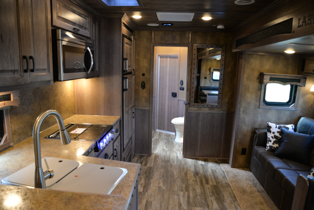 Living Quarters In Bighorn Edition BH8X17 | Lakota Trailers
