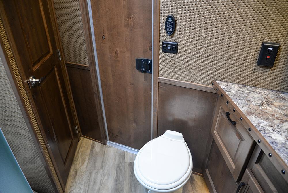 Restroom In Bighorn Edition BH8X16SRB   Lakota Trailers