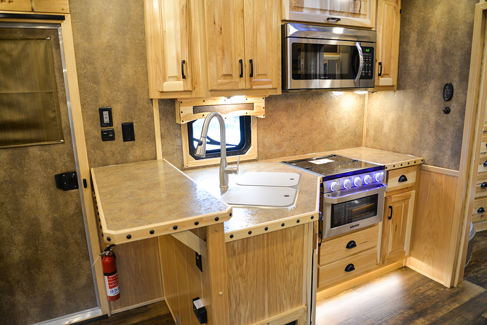 Kitchen In Bighorn Edition BH8X14CE | Lakota Trailers