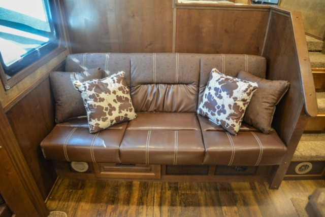 Sofa in BH8X17SRB | Lakota Trailers