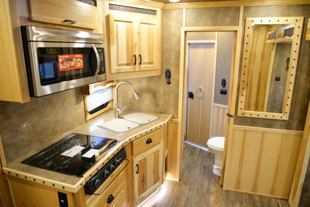 Kitchen in Bighorn BLE8X11RK Livestock Trailer | Lakota Trailers