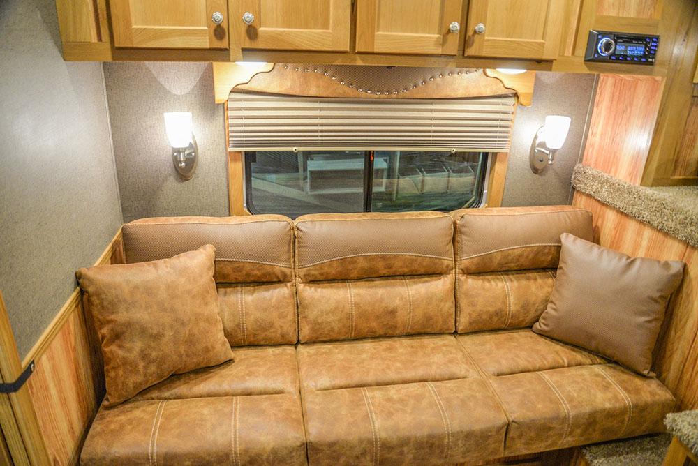 Sofa in BH8X15DSRK Bighorn | Lakota Trailers