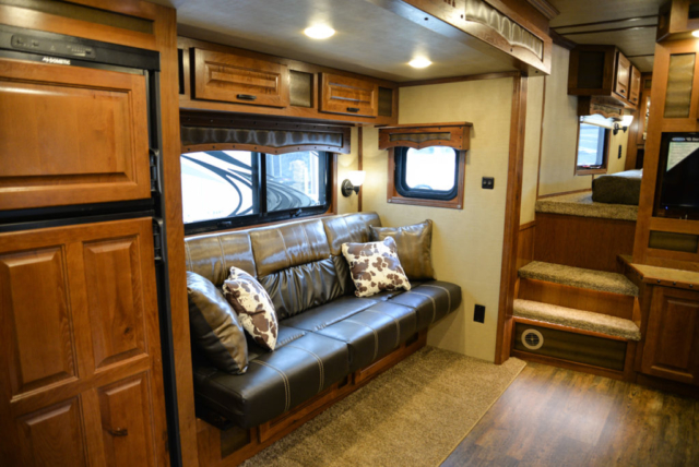 Couch Area in a BH8X14CE Bighorn Edition
