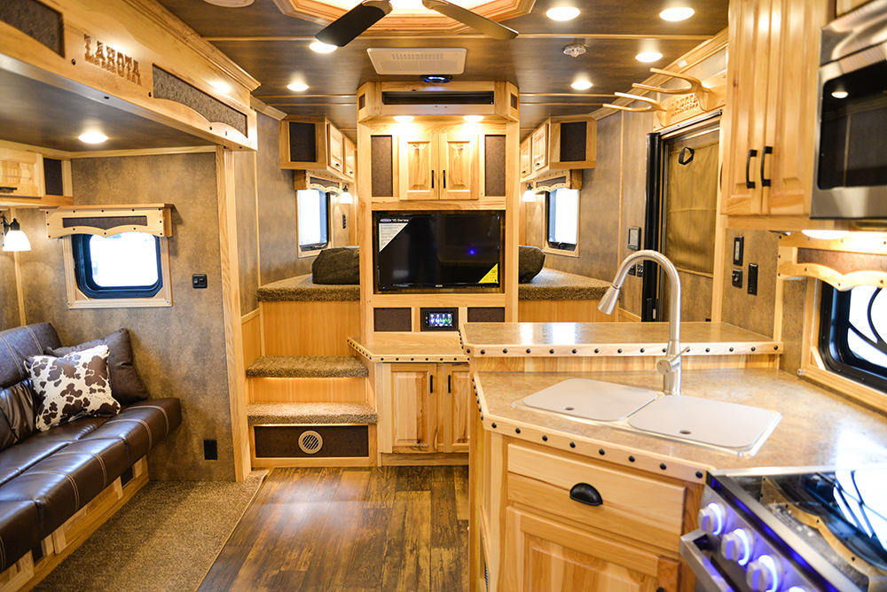Living Quarters In Bighorn Edition BH8X14CE | Lakota Trailers