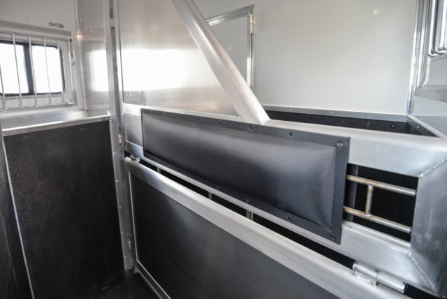 Stall Area in a Charger Edition C8X11RK Horse Trailer | Lakota Trailers