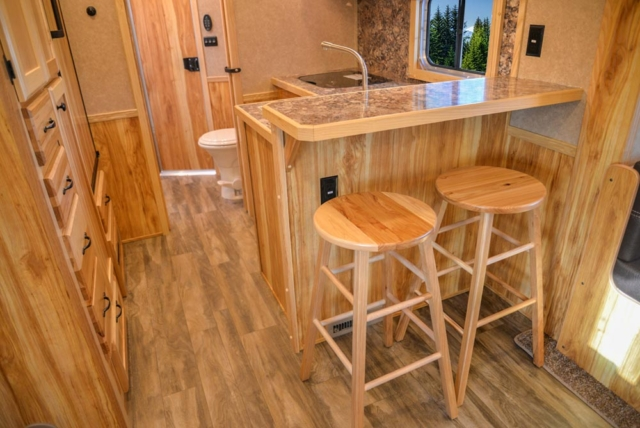 Bar in C8X15RKB Charger Edition Horse Trailer | Lakota Trailers